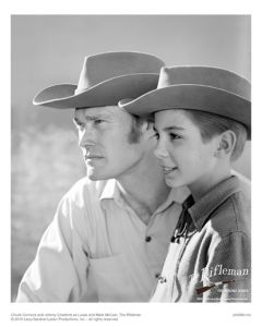 Publicity still of Connors and Crawford