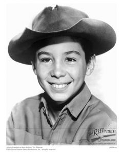 Publicity still of young Johnny Crawford
