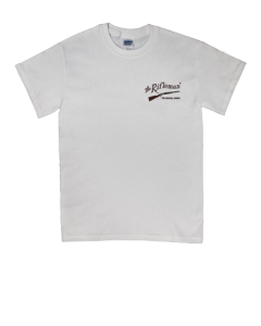 white short sleeve t-shirt w/o pocket (front)