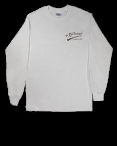 White Long-Sleeve T-shirt w/o pocket (front)