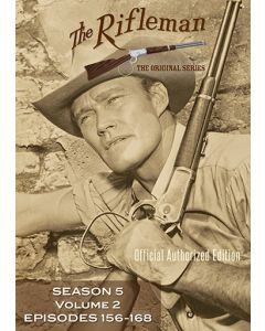 The Rifleman Value Edition Season 5 Vol 2 (episodes 156 - 168)