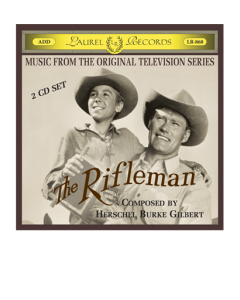 Original music from the Rifleman 2 CD set cover/booklet