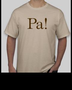 Natural Short-Sleeve T-shirt (front)