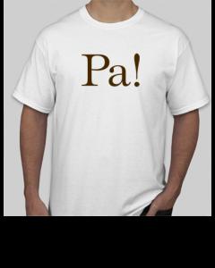 White Short-Sleeve T-shirt (front)