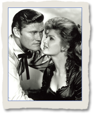 Patricia Blair as Lou Mallory with Chuck Connors a