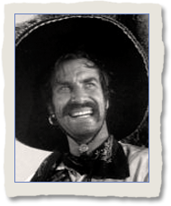 Martin Landau as Miguel, the Patron in The Vacquer
