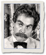 Kevin McCarthy as Mark Twain in The Shattered Idol
