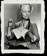 Agnes Moorehead as Miss Bertie