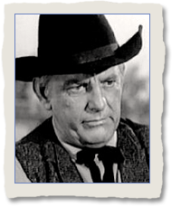 Denver Pyle as Georger Tanner in The Clarence Bibb