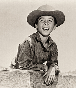 Johnny Crawford as Mark McCain