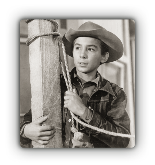 Johnny Crawford as Mark McCain in Dark Day at North Fork, episode 100